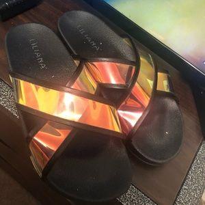 Fashion Nova slides/sandals